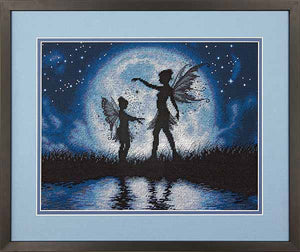 Twilight Silhouette Cross Stitch Kit by Dimensions