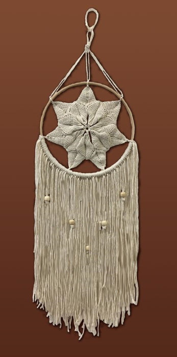 Natural Star Macrame Kit by Design Works