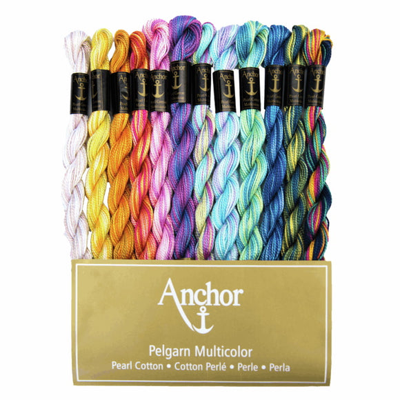Pearl Cotton Skein Pack by Anchor