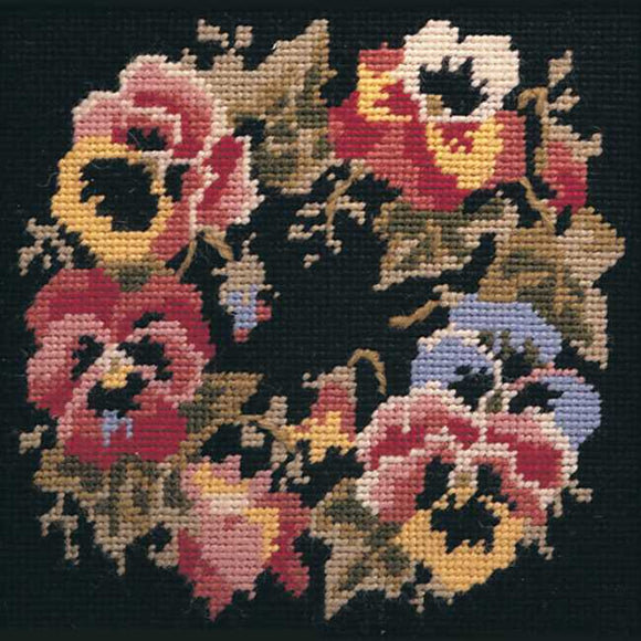 Garland Needlepoint Kit by Glorafilia