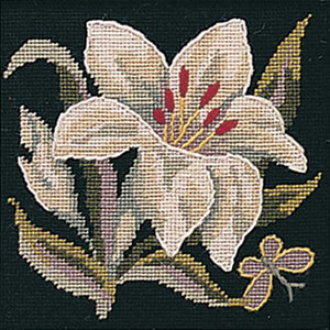 Lily Needlepoint Kit by Glorafilia
