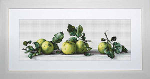 Apples Cross Stitch Kit by Luca S