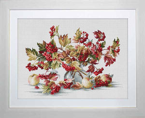 Guelder Rose Cross Stitch Kit by Luca S