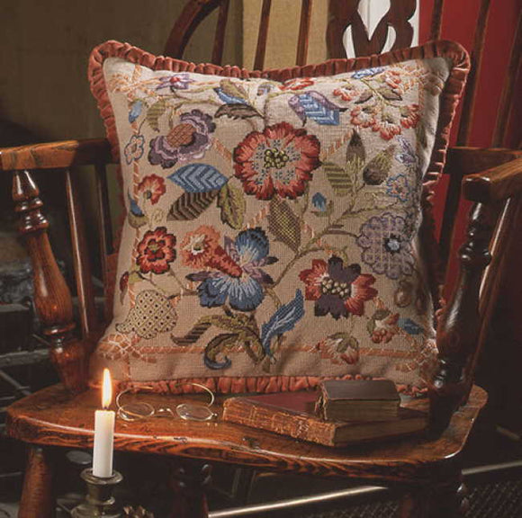 Southwold Needlepoint Cushion Kit by Glorafilia