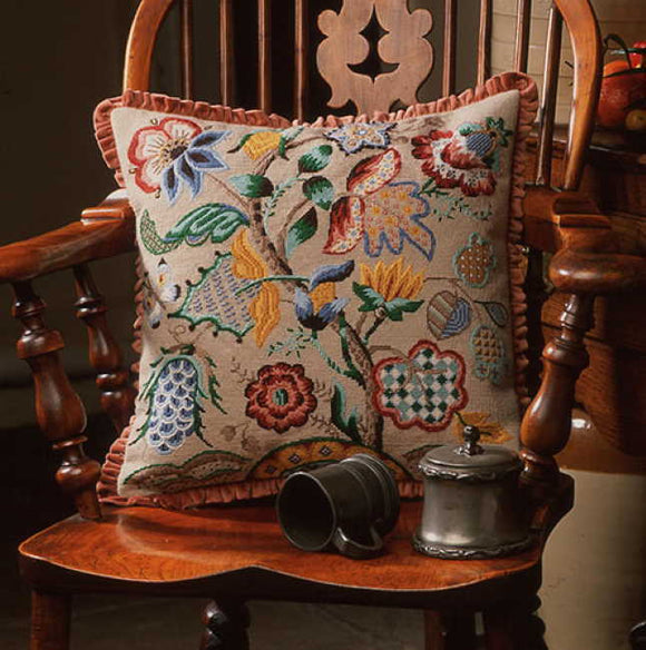 Audley End Needlepoint Cushion Kit by Glorafilia