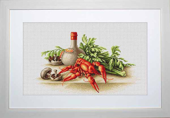 Crayfish Cross Stitch Kit by Luca S
