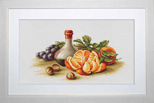 Oranges Cross Stitch Kit by Luca S