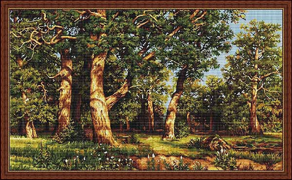 Grove Cross Stitch Kit by Luca S