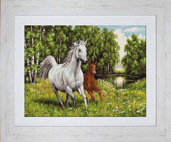 In the Wild Cross Stitch Kit by Luca S