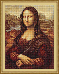 Mona Lisa Cross Stitch Kit by Luca S