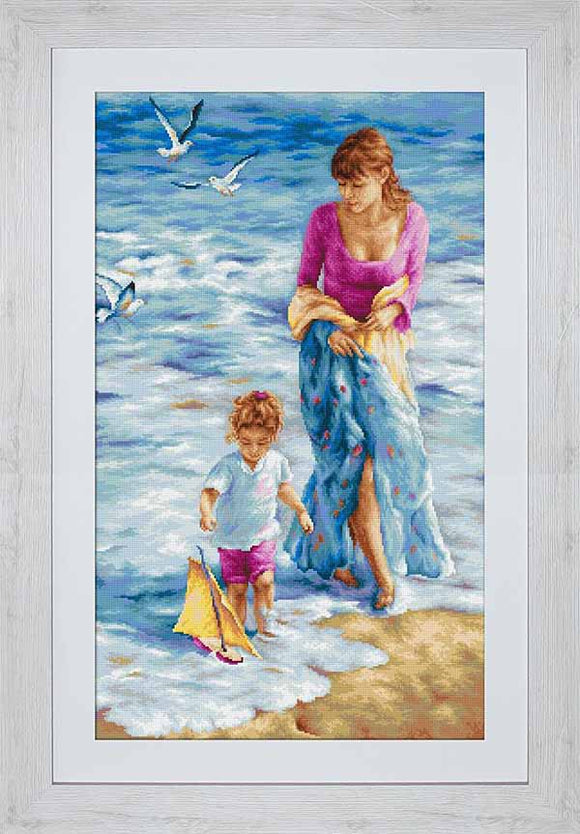 Precious Moments Cross Stitch Kit by Luca S