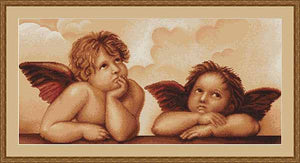Cherubs Cross Stitch Kit by Luca S