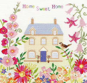 Home Sweet Home Cross Stitch Kit By Bothy Threads