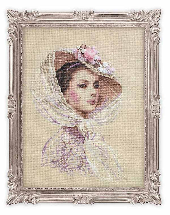 Lilac Evening Cross Stitch Kit By RIOLIS