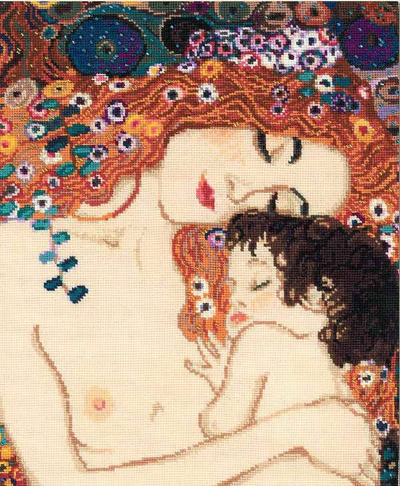 Motherly Love Cross Stitch Kit By RIOLIS