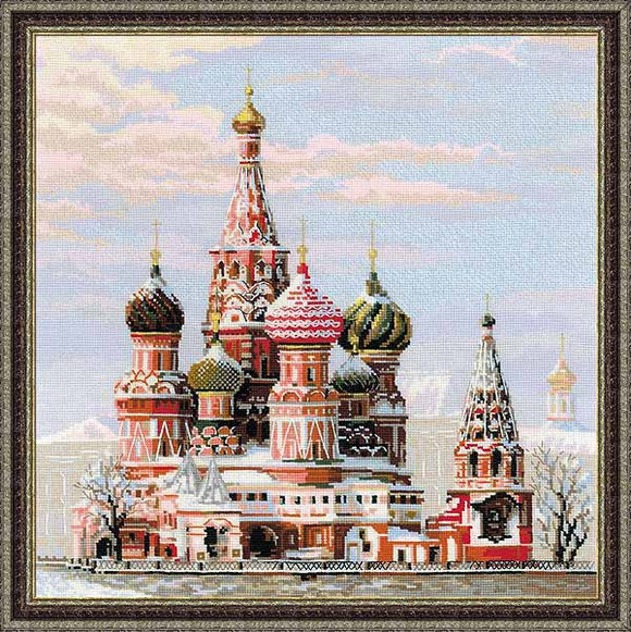 St Basils Cathedral Cross Stitch Kit By RIOLIS