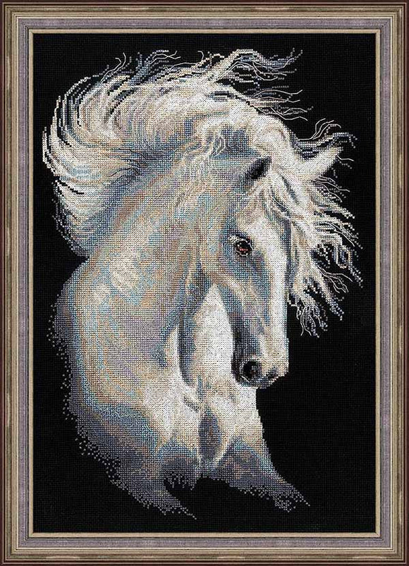 Andalusian Character Cross Stitch Kit By RIOLIS