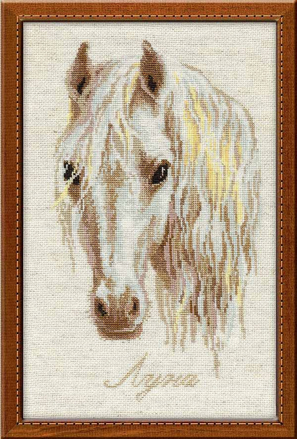 Moon Cross Stitch Kit By RIOLIS