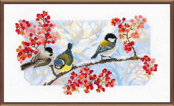 Winter Day Cross Stitch Kit By RIOLIS