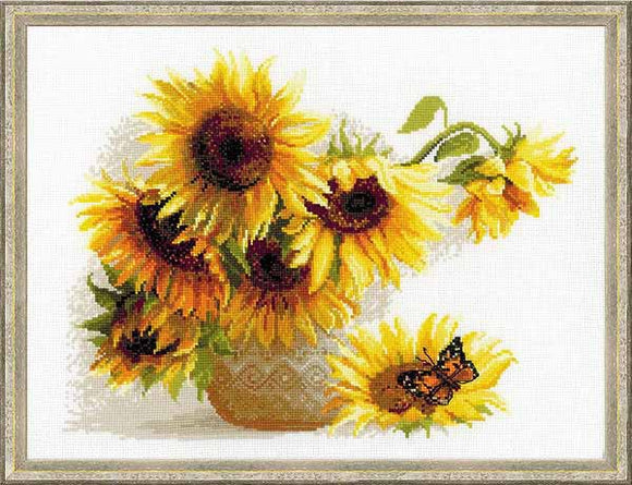 Hot Summer Cross Stitch Kit By RIOLIS
