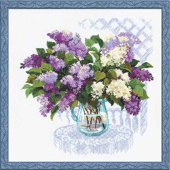 The Smell of Spring Cross Stitch Kit By RIOLIS