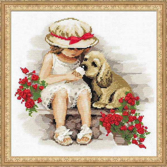 Sweet Tooth Cross Stitch Kit By RIOLIS