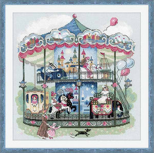 Carousel Cross Stitch Kit By RIOLIS