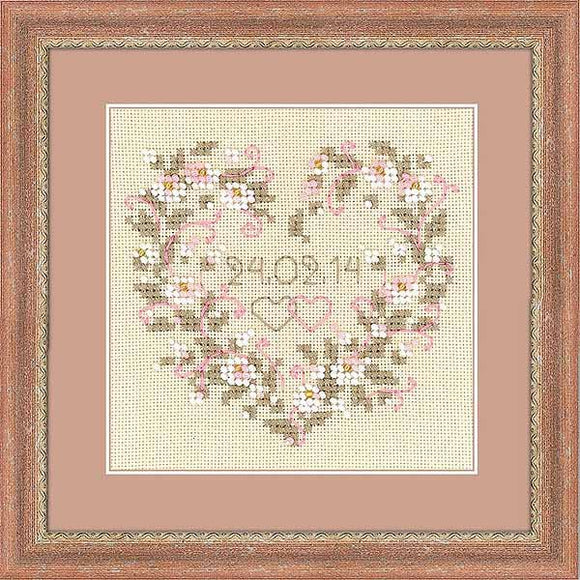 From All Heart Cross Stitch Kit By RIOLIS