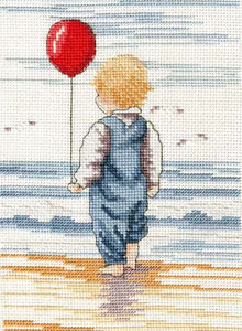 Little Blondie All Our Yesterdays Cross Stitch Kit by Faye Whittaker