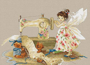 Needlework Fairy Cross Stitch Kit by Luca S