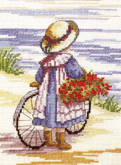 Flowers for Home All Our Yesterdays Cross Stitch Kit by Faye Whittaker