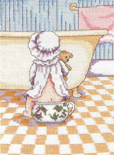 Wee Break All Our Yesterdays Cross Stitch Kit by Faye Whittaker