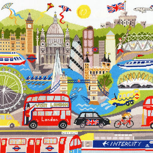 London Cross Stitch Kit By Bothy Threads