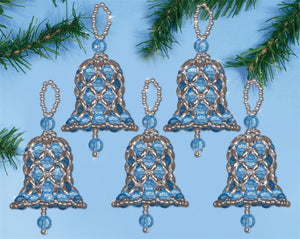 Blue Bells Christmas Decoration Beading Kit by Design Works