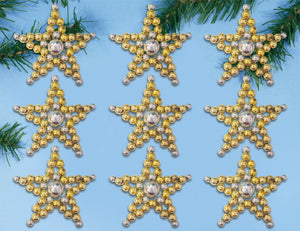 Starlight Ornaments Christmas Decoration Beading Kit by Design Works