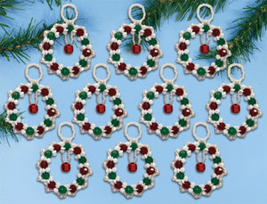 Ring in the Season Ornaments Christmas Decoration Beading Kit by Design Works