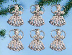 Angel Ornaments Christmas Decoration Beading Kit by Design Works