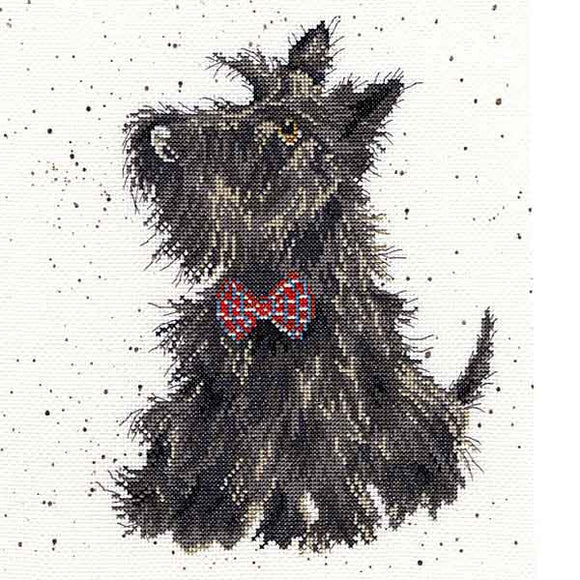 Scottie Cross Stitch Kit By Bothy Threads