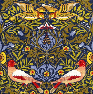 Bird William Morris Cross Stitch Kit By Bothy Threads