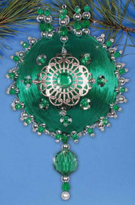 Emerald Heirloom Christmas Decoration Beading Kit by Design Works