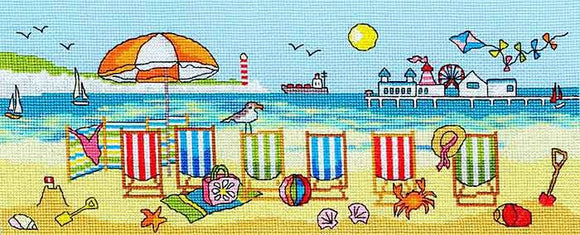 Deckchair Fun Cross Stitch Kit By Bothy Threads