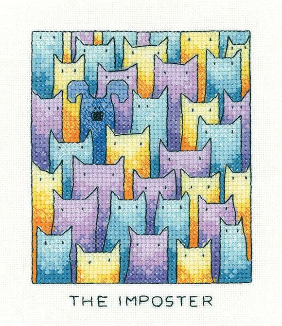 The Imposter Cross Stitch Kit by Heritage Crafts