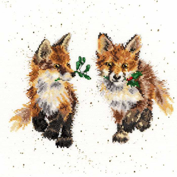 Glad Tidings Cross Stitch Kit By Bothy Threads