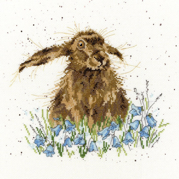Bright Eyes Cross Stitch Kit By Bothy Threads