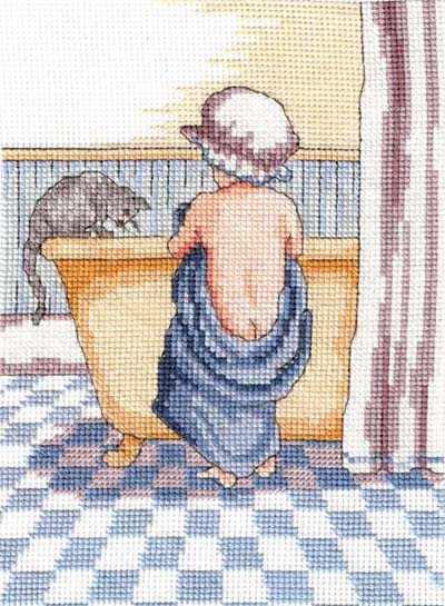 Curiosity All Our Yesterdays Cross Stitch Kit by Faye Whittaker