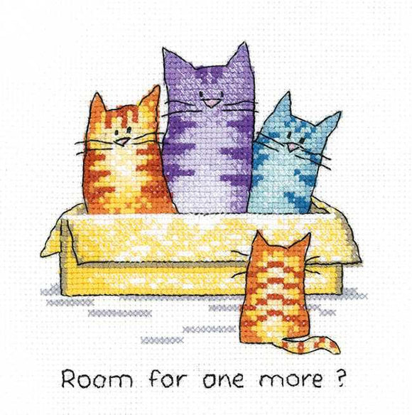Room for One More Cross Stitch Kit by Heritage Crafts