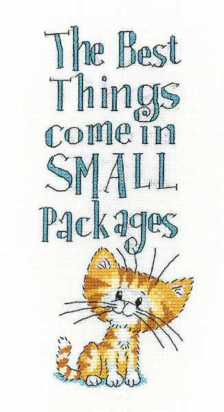 Small Packages Cross Stitch Kit by Heritage Crafts