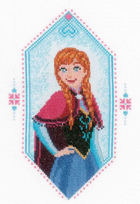 Anna Cross Stitch Kit by Vervaco
