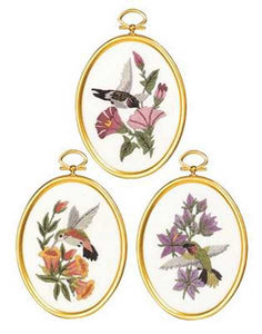 Hummingbirds Embroidery Kit by Janlynn