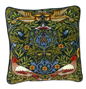 Bird William Morris Tapestry Cushion Kit By Bothy Threads